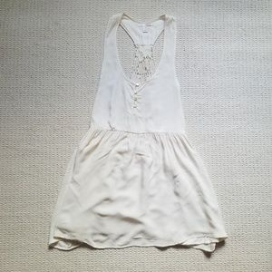 Amuse Society ivory Boho festival dress size M